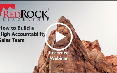 How to Build a High-Accountability Sales Team