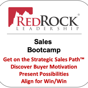 redrock leadership sales bootcamp