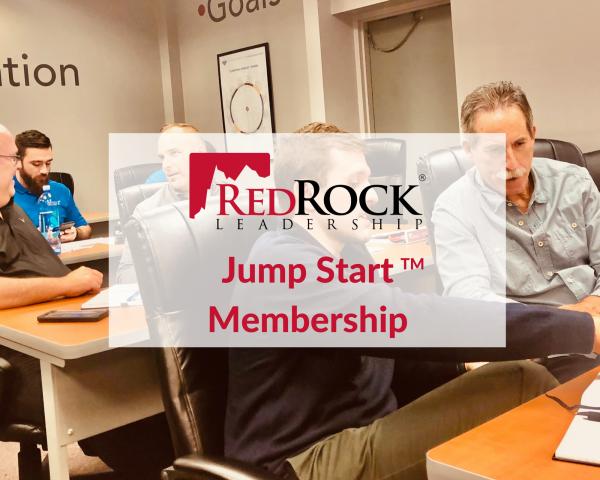 RedRock Jump Start Membership