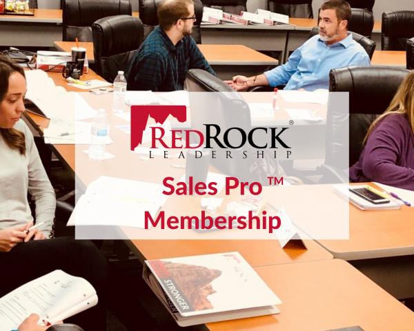 RedRock Sales Pro Membership