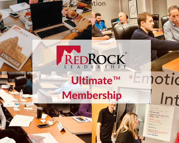 RedRock Leadership Ultimate Membership Options